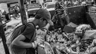 """Una de las fotografías de """"1984 Venezuela"""" presentadas en Perpiñán."""