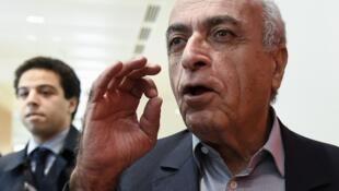 Ziad Takieddine, homme d'affaires franco-libanais, l'un des six prévenus.