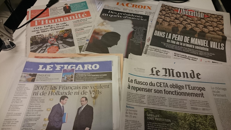 Diários franceses 26.10.2016
