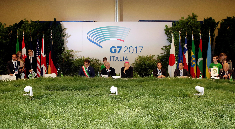 Taron kasashen G7 a Italiya