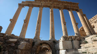 Ruins of Syria's Roman-era ancient city of Palmyra