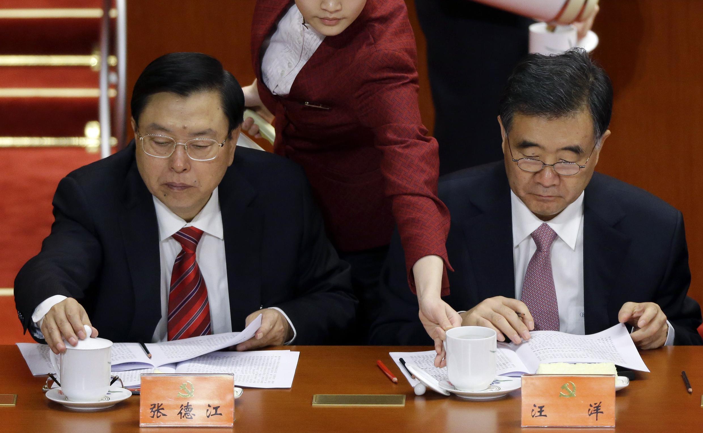 Chủ tịch Quốc hội Trung Quốc Trương Đức Giang - REUTERS /Jason Lee