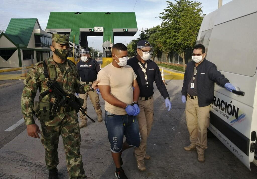 Gerardo Rojas Castillo a été interpellé mercredi 10 juin sur la route de Valledupar, dans le département du César (nord), frontalier du Venezuela.