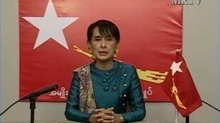 Le spot de campagne de la leader de l'opposition, qui dure treize minutes, a été raccourci lors de sa diffusion à la télévision d'Etat.
