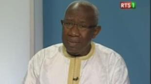 Iba Der Thiam, historien, professeur à l'université Cheikh Anta Diop de Dakar (capture d'écran).