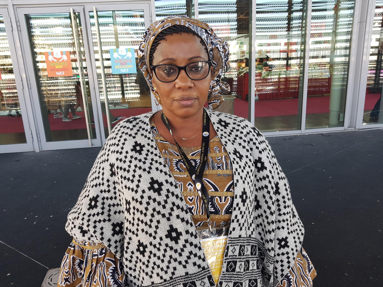 Niakaté Goundo Kamissoko, présidente de la Fédération des femmes rurales du Mali.