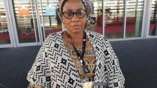 Madame Niakaté Goundo Kamissoko, présidente de cette Fédération nationale des femmes rurales du Mali (FENAFER).