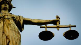 Justice Balance Statue