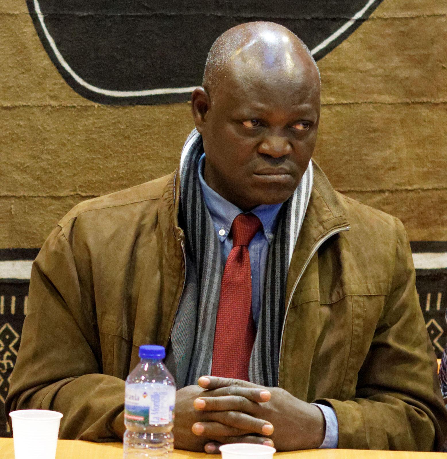 Le journaliste et écrivain Tiburce Koffi.