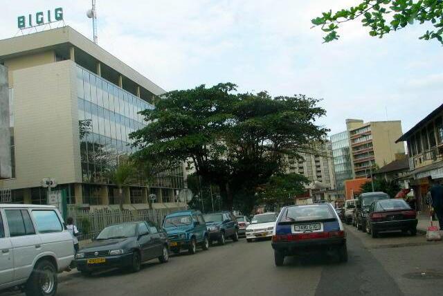La Banque internationale pour le commerce et l'industrie du Gabon, la BICIG, une filiale du groupe BNP Paribas.