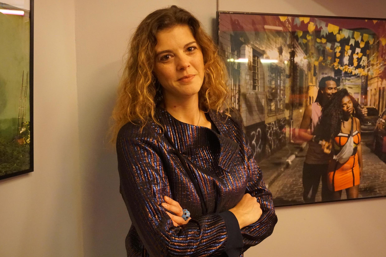 A fotógrafa, Carolina Arantes