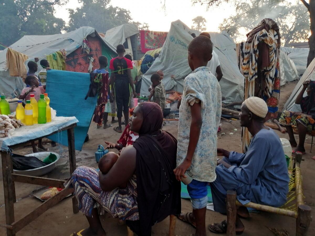 Dans un camp de déplacés, en Centrafrique. (Image d'illustration)