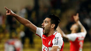 Radamel Falcao led Monaco's recovery after starting the game against Dijon as a substitute..