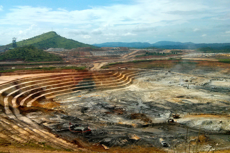 Vue d'une mine d'or en RDC (Image d'illustration)