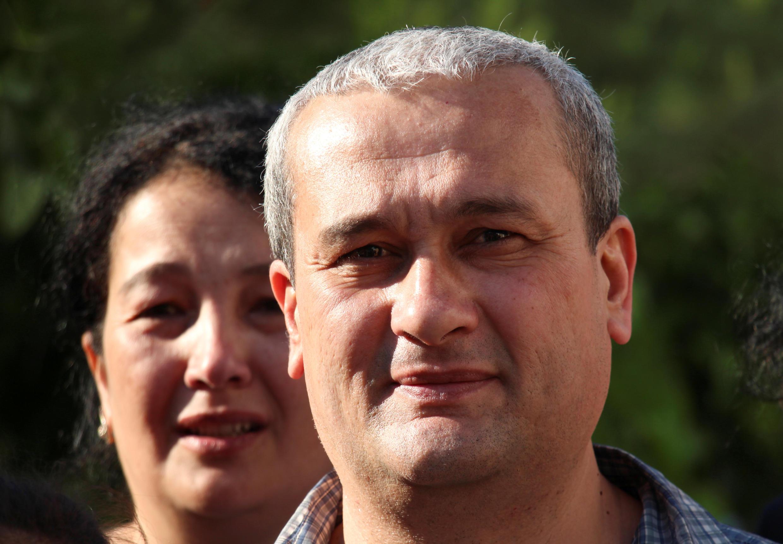 Независимый журналист Бобомурода Абдуллаев, 7 мая 2018.