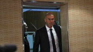 Зинедин Зидан стал новым тренером «Реал Мадрид»