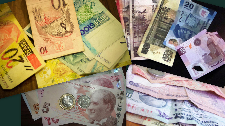 Real, rúpia, lira turca e peso argentino passam por instabilidade.