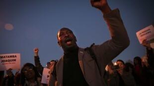 Mamadou Ba, um dos dirigentes da SOS Racismo