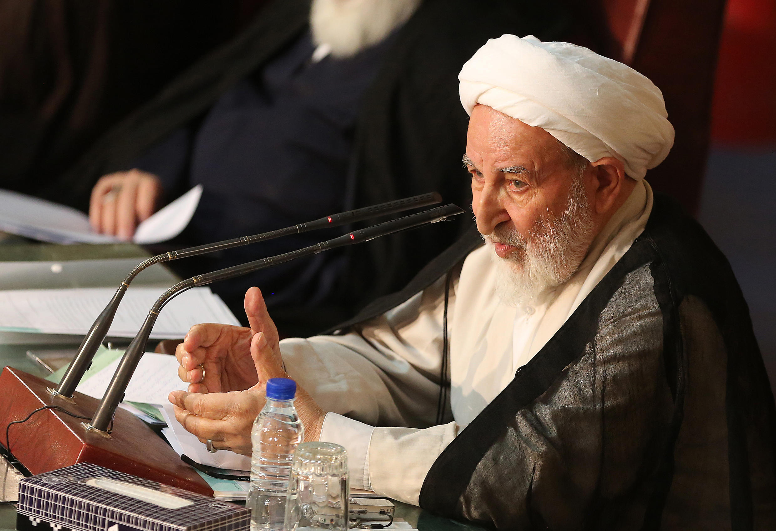 Yazdi served as the head of Iran's Assembly of Experts -- a body tasked with appointing the supreme leader -- in 2015