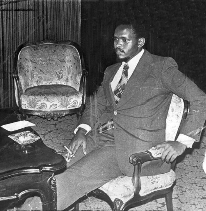Steve Biko, un des héros de la lutte anti-apartheid, est mort sous la torture en prison en 1977.