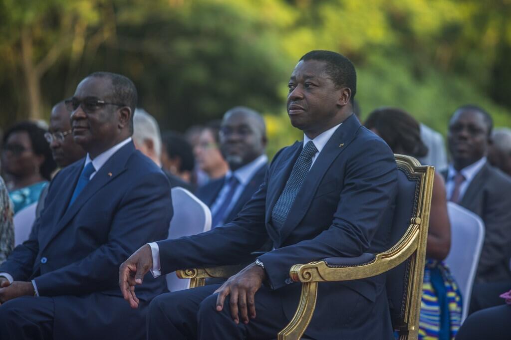 Shugaban kasar Togo Faure Gnassingbé a birnin Lome na kasar Togo