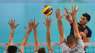 Lourenço Martins - Tourcoing - Voleibol - Volley-Ball - Desporto - Sport - Portugal