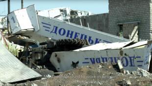 Кадр из документального фильма «Аэропорт Донецк»