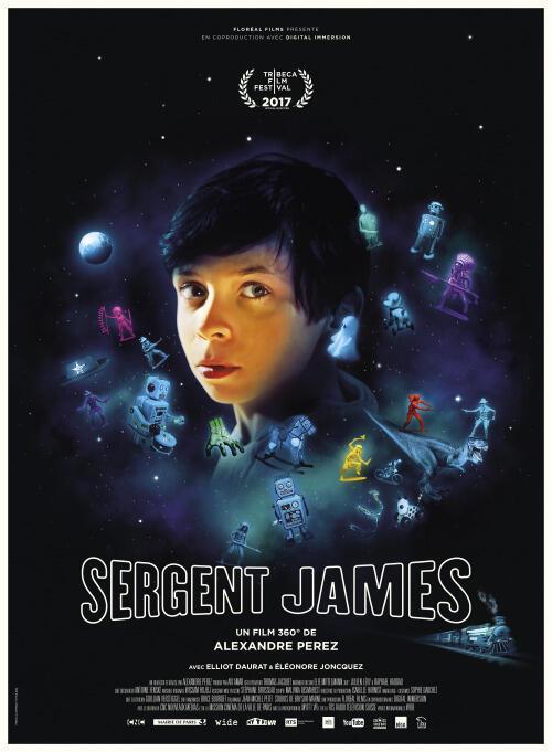 « Sergent James », un film en réalité virtuelle, écrit et réalisé par Alexandre Perez.