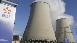 La centrale nucléaire de Nogent-sur-Seine.