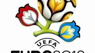 Logo de l'Euro 2012 de football.
