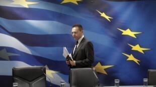 El ministro de las Finanzas griego, Yannis Stournaras.