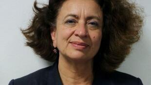 Dr Ghada Hatem, gynécologue obstétricienne et médecin chef à la Maison des femmes de l'hôpital Delafontaine à Saint-Denis en région parisienne.