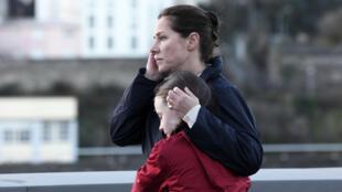 L'actrice danoise Sidse Babett Knudsen dans «La Fille de Brest» d'Emmanuelle Bercot.