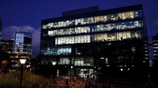 Le siège d'I-Télé, à Boulogne-Billancourt, en banlieue parisienne.