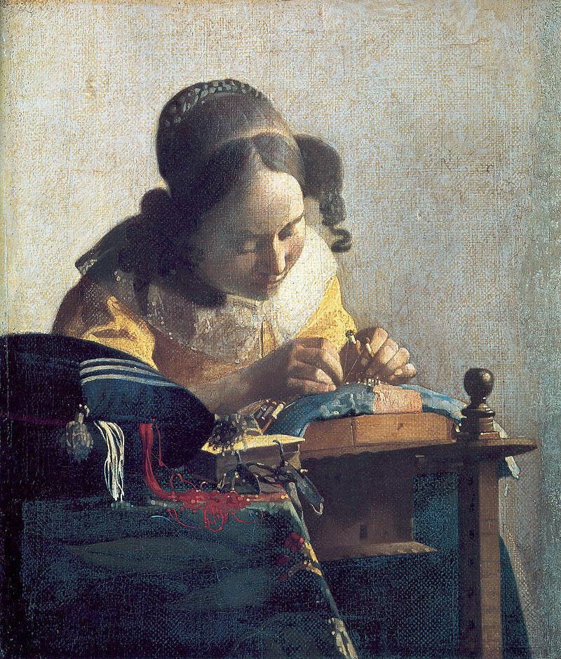 Johannes Vermeer, The Lacemaker