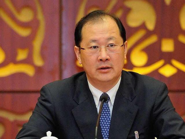重庆市委副书记任学锋生前开会照片
