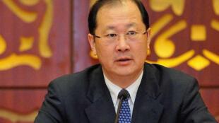 重慶市委副書記任學鋒生前開會照片