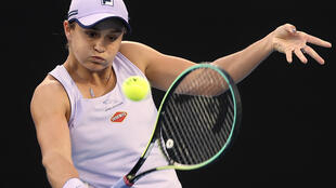 Australia's Ashleigh Barty is into the quarter-finals at Melbourne Park