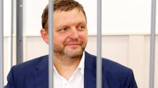 Губернатор Кировской области Никита Белых в Басманном суде Москвы, 25 июня 2016 г.