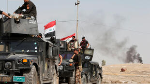 The Iraqi army advances on Mosoul