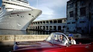 Un crucero en La Habana, agosto de 2018.