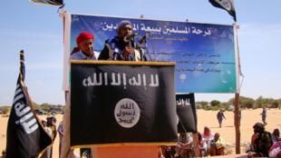 Le porte-parole des shebabs somaliens, Sheikh Ali Mohamud Rage, le 13 février 2012.