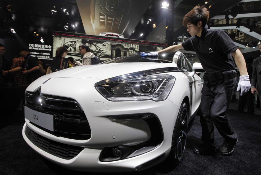 La Feria del Automóvil de Pekín en 2012