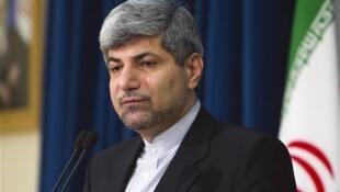 Ramin Mehmanparast, porta-voz do Ministério de Relações Exteriores do Irã.
