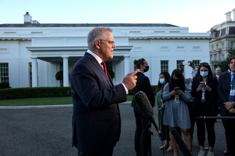 澳大利亞總理莫里森資料圖片