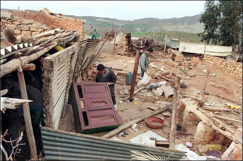 The scene of a 1989 massacre in Sahanine, Relizane, Algeria