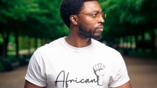 "Filipe Anjos, fundador da marca ""African Clothing"""