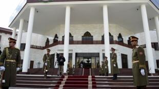 Le nouveau complexe du Parlement à Kaboul, le 25 décembre 2015, lors de son inauguration.