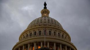 Vue du Congrès américain.