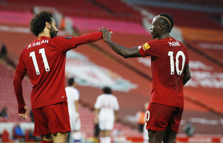 Mohamed Salah - Sadio Mané - Liverpool - Futebol - Football - Desporto - Angleterre - Inglaterra
